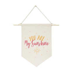 You Are My Sunshine Hanging Wall Banner