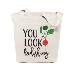 You Look Radishing Cotton Canvas Tote Bag - The Cotton and Canvas Co.