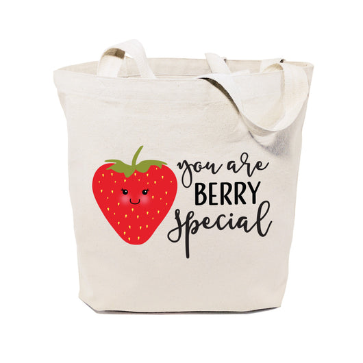 You Are Berry Special Cotton Canvas Tote Bag - The Cotton and Canvas Co.