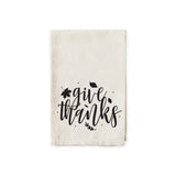 Give Thanks Cotton Muslin Napkins - The Cotton and Canvas Co.