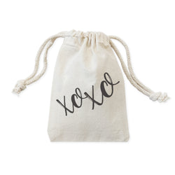 XOXO Wedding Favor Bags, 6-Pack - The Cotton and Canvas Co.