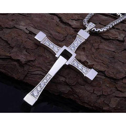 316L Stainless Steel Cross Pendant Necklace - Win N Win