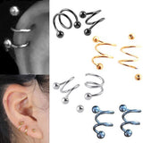 Stainless Helix Punk Ear Stud
