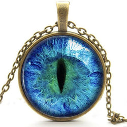 Cat Eye Necklace Pendant - Win N Win