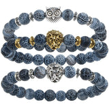 2017 Leopard Tiger Eye Yoga Bracelet