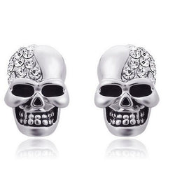 2017 New Skull Head Stud Earrings