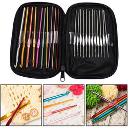 22Pcs Crochet Hooks Set
