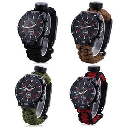 Multifuctional Survival Bracelet Watch