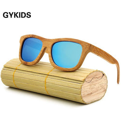 New fashion Men Women Glass Bamboo Sunglasses - Win N Win