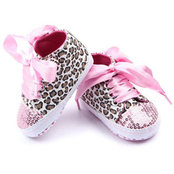 Toddler Baby Girls Shoes Floral Leopard - Win N Win