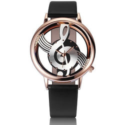 Hollow Musical Note Watch