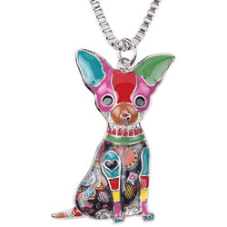 Chihuahua Dog Choker Necklace