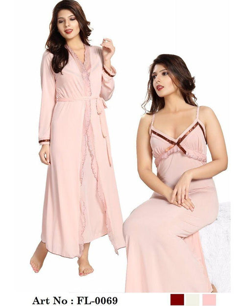 Buy Skin Nighty - FL-0069 - Flourish 2 Piece Nightwear Online in Karachi, Lahore, Islamabad, Pakistan, Rs.2100.00, Nighty Sets Online Shopping in Pakistan, Flourish, Bridal Nighty, buy nighties online, buy nightwear in pakistan, casual nighty, cf-color-skin, cf-size-large, cf-type-nighty-sets, cf-vendor-flourish, comfortable nighty, fancy nighty, flourish ladies night suits, flourish nightwear, flourish nighty, flourish pakistan, Honeymoon Nighty, imported nighty, Lace Nighty, latest nighty in pakistan, long nighty, net nighty, nighty grown, nighty islamabad, nighty karachi, nighty lahore, nighty online shopping, nighty pakistan, polyester nighty, Sexy Nighties, sexy nighty, shop nighty online, silk nighty, sleeping nighty, stylish nighties online, transparent nighty, wedding nighty, woo_import_2, Online Shopping in Pakistan - NIGHTYnight