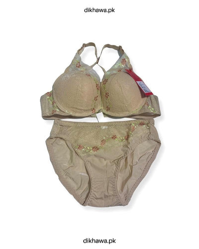 Bridal Bra Panty Sets - Zero Size - Single Padded Underwired Bra Panty Sets - BS3004- 2021