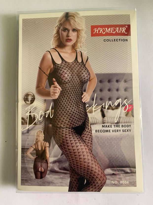 Hkmeair Khushi Print Sexy Net Bodystocking No 8004