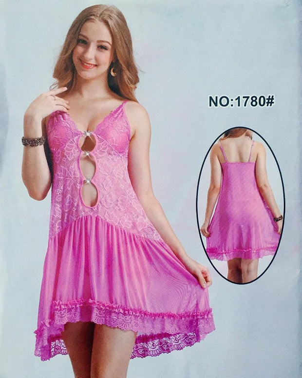 4c11ac6646 Pink See through Sexy Nighty - 1780 - Nighty - diKHAWA Online Shopping in  Pakistan