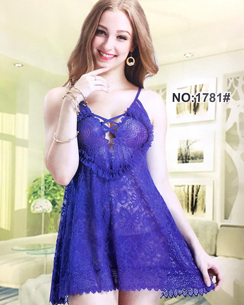 Buy Sexy Cotton Net Short Nighty For Women - 1781# Online in Karachi, Lahore, Islamabad, Pakistan, Rs.{{amount_no_decimals}}, Ladies Nighty Online Shopping in Pakistan, Flourish, Clothing, Honeymoon Nighty, Lingerie & Nightwear, Net Nighty, Nightwear, Nighty, Short Nighty, Wedding Nighty, Women, Online Shopping in Pakistan - NIGHTYnight