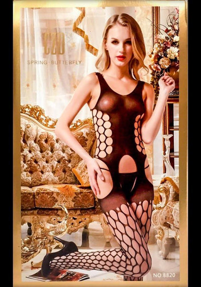 Spring Butterfly Bodystocking - 8820 - Body Stocking - diKHAWA Online Shopping in Pakistan