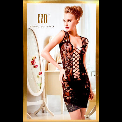 Spring Butterfly Bodystocking 06 - Body Stocking - diKHAWA Online Shopping in Pakistan
