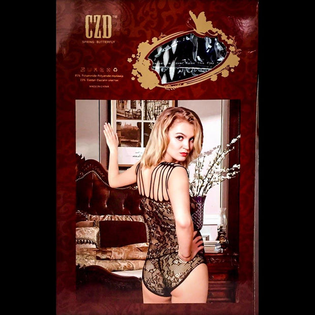 Spring Butterfly Bodystocking - 8942 - Body Stocking - diKHAWA Online Shopping in Pakistan