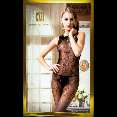 CZD Spring Butterfly 8835 - Body Stocking - diKHAWA Online Shopping in Pakistan