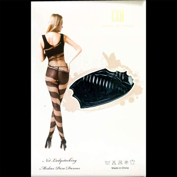 CZD Spring Butterfly 8815 - Body Stocking - diKHAWA Online Shopping in Pakistan