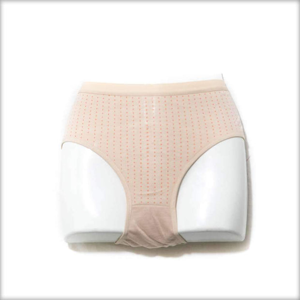 Pack of 2 Solid Colour Polka Dotted Panty - Cotton Jersey Panty - Mix Colours - Panty - diKHAWA Online Shopping in Pakistan