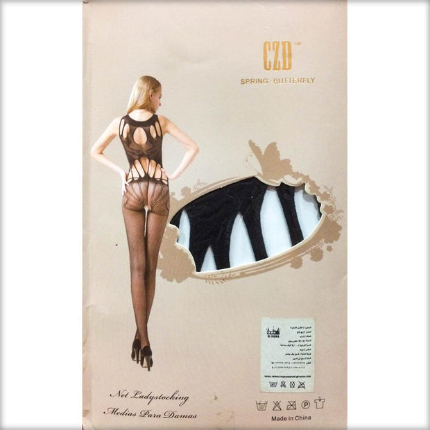 Stocking Spring Butterfly CZD - CPG-8828 - Body Stocking - diKHAWA Online Shopping in Pakistan