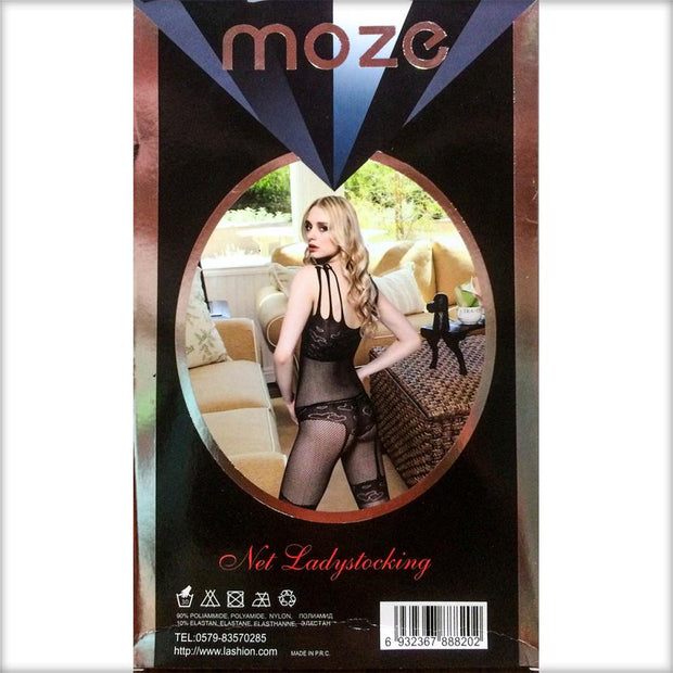 Net Lady Stocking MOZE - CPG-8820 - Body Stocking - diKHAWA Online Shopping in Pakistan