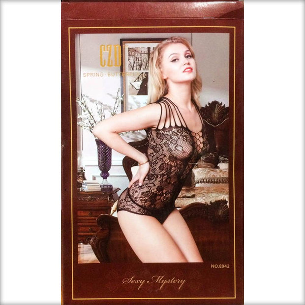 Stocking Spring Butterfly CZD - CPG-8942 - Body Stocking - diKHAWA Online Shopping in Pakistan