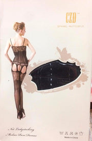 Stocking Spring Butterfly CZD - CPG-8849 - Body Stocking - diKHAWA Online Shopping in Pakistan
