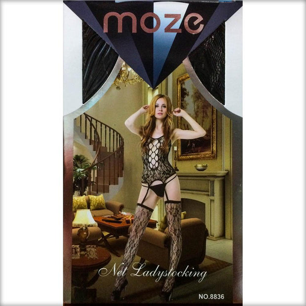Net Lady Stocking MOZE - CPG-8836 - Body Stocking - diKHAWA Online Shopping in Pakistan