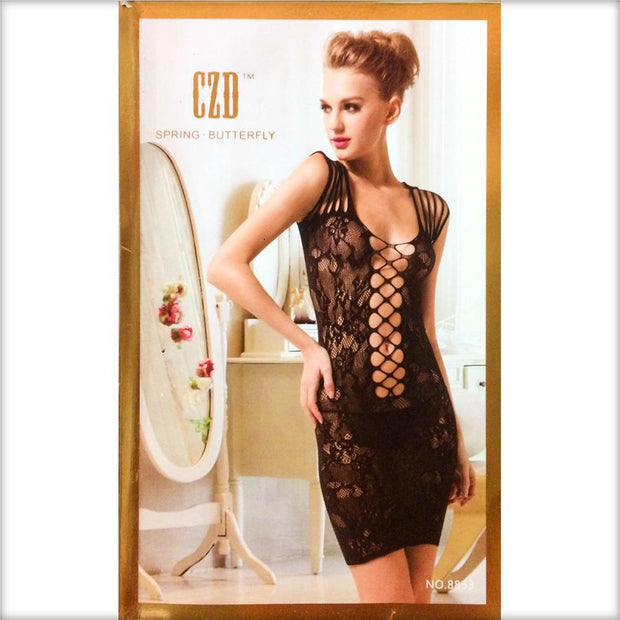 Stocking Spring Butterfly CZD - CPG-8853 - Body Stocking - diKHAWA Online Shopping in Pakistan