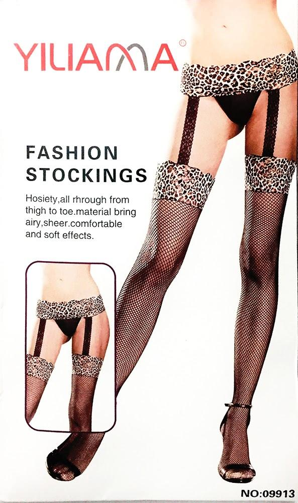 Yiliama Fashion Figured Painty Hose Sexy Leg Stocking-09913 - Leg Stocking - diKHAWA Online Shopping in Pakistan