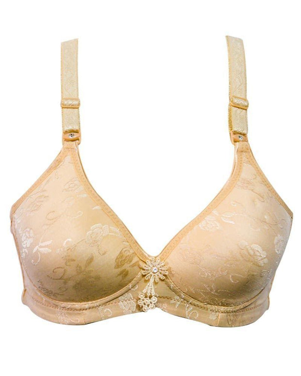 Comfortable Bra 2588 Single Padded Non Wired - Mi Sinuo