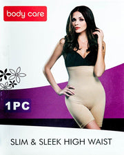Body Care 41216 Slim & Sleek High Waist Body Suit