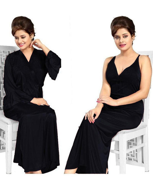 Buy Black Nighty - FL-605 - Flourish 2 Piece Nightwear Online in Karachi, Lahore, Islamabad, Pakistan, Rs.1700.00, Nighty Sets Online Shopping in Pakistan, Flourish, Bridal Nighty, buy nighties online, buy nightwear in pakistan, casual nighty, cf-color-black, cf-size-large, cf-size-medium, cf-type-nighty-sets, cf-vendor-flourish, comfortable nighty, fancy nighty, flourish ladies night suits, flourish nightwear, flourish nighty, flourish pakistan, Honeymoon Nighty, imported nighty, Lace Nighty, latest nighty in pakistan, long nighty, net nighty, nighty grown, nighty islamabad, nighty karachi, nighty lahore, nighty online shopping, nighty pakistan, polyester nighty, Sexy Nighties, sexy nighty, shop nighty online, silk nighty, sleeping nighty, stylish nighties online, transparent nighty, wedding nighty, woo_import_2, Online Shopping in Pakistan - NIGHTYnight