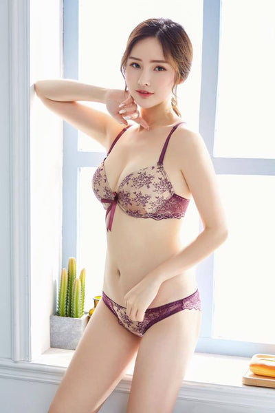 Buy Bridal Bra Panty Set - Underwired Purple Single Padded Bra Online in Karachi, Lahore, Islamabad, Pakistan, Rs.1200.00, Ladies Bras Online Shopping in Pakistan, Wedding Lingerie, Bra, Bra Panty Sets, Brand_Wedding Lingerie, bridal bra, Classic Bra, Clothing, Collection_Sexy, Colour_Purple, Content_Non Family, Deep Cup Bra, embroidered bra, Everyday Bra, Fancy Bra, Foam Bra, Full Cup Bra, Gender_Women, Lace Bra, Lingerie & Nightwear, Plus Size Bra, Push Up Bra, Single Padded Bra, Size = 32B, Size = 34B, Size = 36B, Size = 38B, Style_Basic Bra, Style_Big Breast Bra, Style_Classic Bra, Style_Deep Cup Bra, Style_Everyday Bra, Style_Fancy Bra, Style_Foam Bra, Style_Full Cup B, Online Shopping in Pakistan - NIGHTYnight