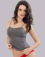 Valentine Secret Skin - Grey Camisole 5004 - Camisole - diKHAWA Online Shopping in Pakistan