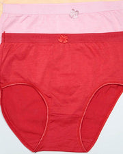 Pack of 3 Women Soft Cotton Brief Panty – AF-113 – Mix Colors