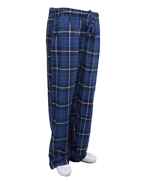 Pack of 2 - Men's Cotton Check Pajama - Cotton Yarn Dyed Flannel Men's Pajama MF-05
