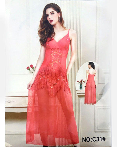 Buy Wedding See Through Sexy Long Nighty - C31 Online in Karachi, Lahore, Islamabad, Pakistan, Rs.1250.00, Nighty Online Shopping in Pakistan, Sexy Lady, best Nightwear Brands in pakistan, best Nighty Brands in pakistan, Branded Nightwear, branded nighty, Bridal Nighty, cf-color-blue, cf-color-purple, cf-color-white, cf-size-free-size, cf-type-nighty, cf-vendor-sexy-lady, fancy nighty, Honeymoon Nighty, imported nighty, Lace Nighty, Ladies Nightwear, ladies Nightwear pakistan, Ladies Nighty, ladies undergarment pakistan, net nighty, Nightwear Online Shopping, Nightwear online shopping in pakistan, Nightwear pakistan, Nightwear shop, Nightwear.com, Online Shopping in Pakistan - NIGHTYnight