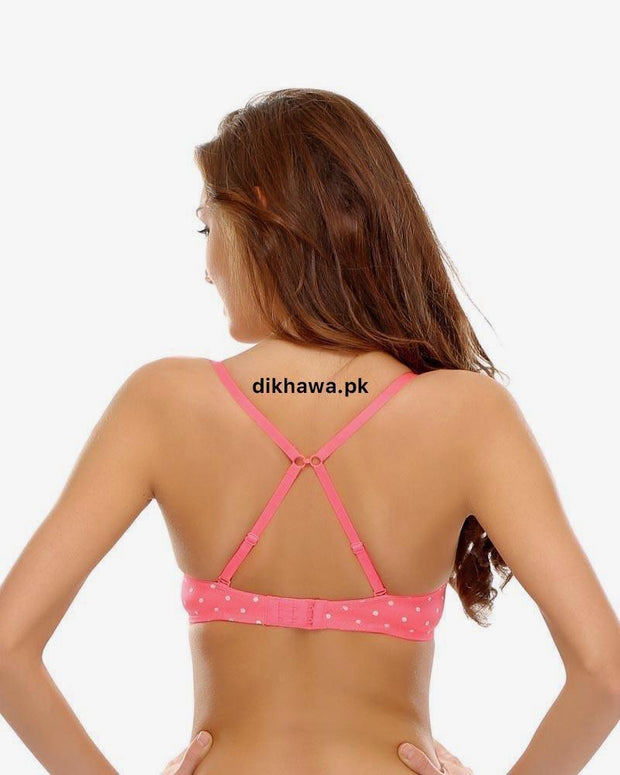 Buy Victoria's Secret - Pushup Bra Panty Sets - Polka Dotted Lace Double Padded Bra Online in Karachi, Lahore, Islamabad, Pakistan, Rs.1800.00, Ladies Bra Panty Sets Online Shopping in Pakistan, Victoria's Secret, Bra, Bra Panty Sets, Brand_Victoria's Secret, Clothing, Colour_Black, Colour_Orange, Lingerie & Nightwear, Material_Foam, Material_Lace, Material_Standard, Size_32B, Size_32C, Size_34B, Size_34C, Size_36B, Size_36C, Size_38B, Size_38C, Size_B Cup, Size_C Cup, Style_2019, Style_2020, Style_Adjustable Straps Bra, Style_Back Closure Bra, Style_Branded, Style_Branded Bra, Style_Bridal Bra, Style_Deep Cup Bra, Style_Designer Bra, Style_Double Padded Bra, Style_Elastic Straps, Style_Everyday Bra, Styl, Online Shopping in Pakistan - NIGHTYnight