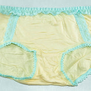 Pack of 4 - Women's Cotton Lace Panty - Flourish Mix Colors Cotton Lace Panty - 6683