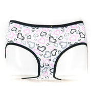 Pack of 3 Cotton Jersey Panty - Heart Panty - Mix Colour - Panty - diKHAWA Online Shopping in Pakistan