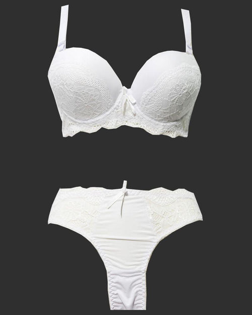 Buy Bridal Pushup Plus Size Bra Panty Sets - Single Padded Underwired Bra Panty Sets - BS1005 Online in Karachi, Lahore, Islamabad, Pakistan, Rs.850.00, Bra Panty Sets Online Shopping in Pakistan, Julia Lingerie, best bra brands in pakistan, best undergarments Brands in pakistan, Bra, bra online shopping, bra online shopping in pakistan, Bra Pakistan, Bra Panty Sets, Bra Shop, bra.com, bra.com.pk, bra.pk, branded bra, branded undergarments, Bridal Bra, Bridal Bra Panty Sets, bridal undergarments, cf-color-white, cf-size-38b, cf-size-40b, cf-size-42b, cf-size-44b, cf-type-bra-panty-sets, cf-vendor-julia-lingerie, Classic Bra, Everyday Bra, Fancy Bra, Full Cup Bra, Imported Bra, ladies bra, ladies undergarment pakistan, ladies undergarments, ladies undergarments pakistan, Party Bra, Single Padded Bra, top bra, top ladies bra brands, top ladies undergarments Brands, top undergarments, undergarments online shopping, undergarments online shopping in pakistan, undergarments pakistan, undergarments shop, undergarments.com, undergarments.com.pk, undergarments.pk, Underwired Bra, wedding undergarments, www bra com, www bra pk, www undergarments com, www undergarments pk, Online Shopping in Pakistan - NIGHTYnight