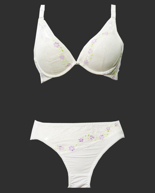 Buy Bridal Bra Panty Sets - Zero Size - Single Padded Underwired Bra Panty Sets - BS3003 Online in Karachi, Lahore, Islamabad, Pakistan, Rs.{{amount_no_decimals}}, Ladies Bra Panty Sets Online Shopping in Pakistan, Julia Lingerie, best bra brands in pakistan, best undergarments Brands in pakistan, Bra, bra online shopping, bra online shopping in pakistan, Bra Pakistan, Bra Panty Sets, Bra Shop, bra.com, bra.com.pk, bra.pk, branded bra, branded undergarments, Bridal Bra, Bridal Bra Panty Sets, bridal undergarments, cf-color-white, cf-size-32b, cf-size-34b, cf-size-36b, cf-type-ladies-bra-panty-sets, cf-vendor-julia-lingerie, Classic Bra, Clothing, Everyday Bra, Fancy Bra, Full Cup Bra, Imported Bra, ladies bra, ladies unde, Online Shopping in Pakistan - NIGHTYnight