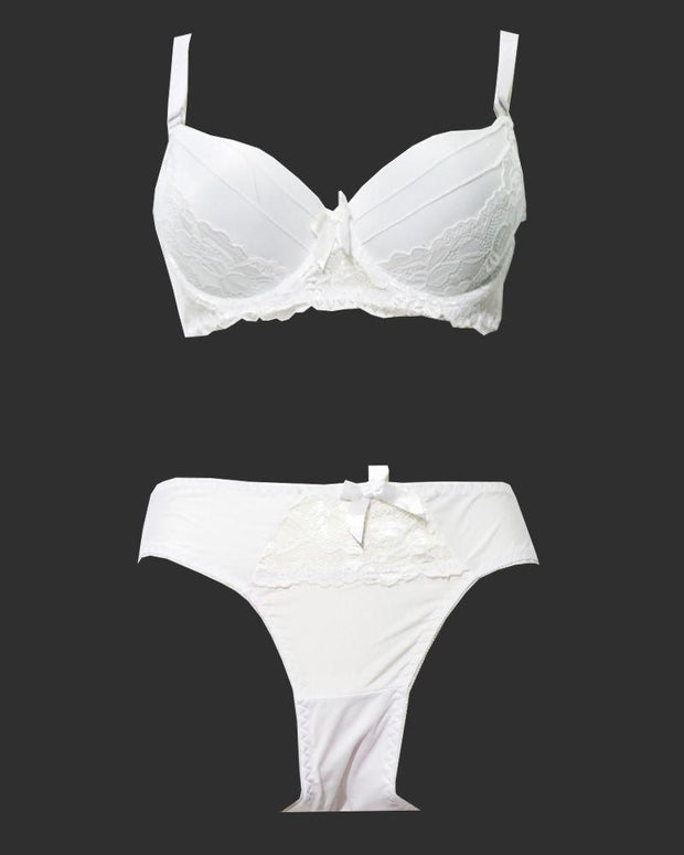 Fancy Bridal Bra Panty Sets - Single Padded Underwired Bra Panty Sets - BS4004 - Bra Panty Sets - diKHAWA Online Shopping in Pakistan