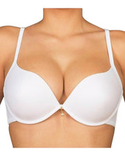 Luchina Branded White Pushup Bra - Spanish Brand - Underwired Double Padded Bra
