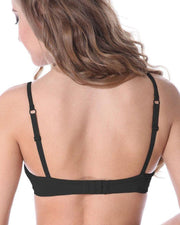 Black Wedding Bra , Non Padded - Non Wired Bra - By Kelitha (Italian Brand)